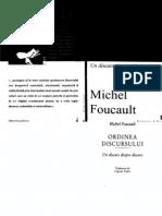 Foucault, Michel - Ordinea Discursului Vol.1