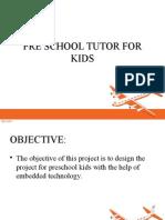 Preschool Tutor for Kids With Pc