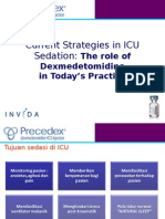 Current Strategies in ICU Sedation The role of Dexmedetomidine in Today's Practice.ppt