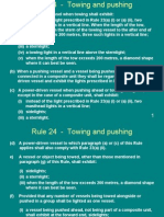 Rule 24 - Towing and Pushing