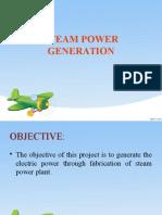 Steam Power Generation
