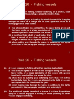 Rule 26 - Fishing Vessels