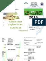 Program-nutrition Month 2014