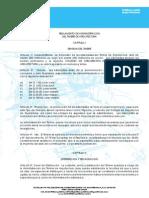 Reglamento de Administración Del Timbre de Arquitectura