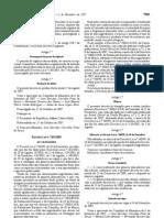 Rotulagem - Legislacao Portuguesa - 2007/11 - DL nº 365 - QUALI.PT