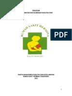 Program Keselamatan Dan Keamanan Fasilitas Fisik
