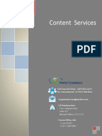 Catalog Content Processing Brochure