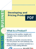 2. Developing and Pricing Products