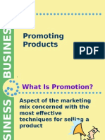 3. Promoting Products