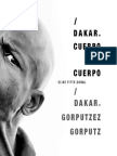 Catálogo de la exposición 'Dakar. Cuerpo a cuerpo' de Elise Fitte-Duval