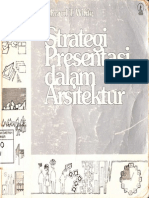 Strategi Presentasi Dalam Arsitektur by Edward T. White