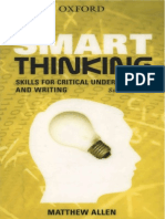 Smart Thinking Skills For Critical Understanding And Writing 2nd ed - Matthew Allen.pdf