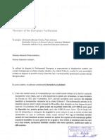 Memoriu adresat prim-ministrului Dacian Ciolos privind situația victimelor din Colectiv