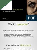 The Langauge of Suspense