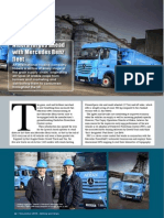 CASE STUDY - Nidera forges ahead with Mercedes Benz fleet