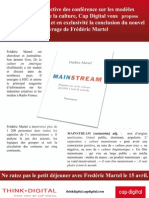 "Conclusion de ""Mainstream"" de Frédéric Martel"