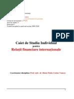 Relatii financiare