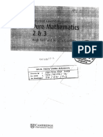 Advanced Level Mathematics Pure Mathematics 2 Dan 3 (Hugh Neil and Douglas Quadling)
