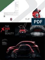 Fiat 500x - Brochure