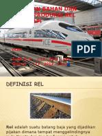 Pemilihan Bahan Dan Proses Produksi Rel Kereta API