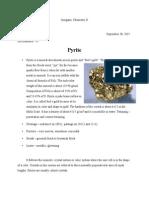 Pyrite(InorganicChemistry)