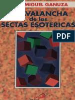 105059920 Ganuza Juan Miguel La Avalancha de Las Sectas Esotericas