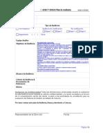 C 4330 F Plan de Auditoria OHSAS