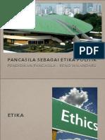 Etika Politik Pancasilak
