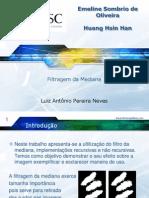 Filtragem Da Mediana-processamento Digital de Imagens