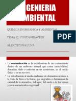 Tema 12 Introduccion Contaminacion