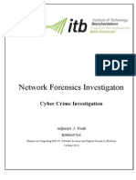 itb - network forensics investigation