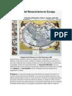 Cartografía Del Renacimiento en Europa