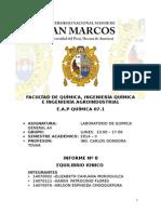 Informe Nº 8- Química General AII