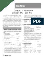 Depósitos de CTS Del Semestre Noviembre 2012 Abril 2013