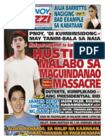 Pinoy Parazzi Vol 8 Issue 141 November 25 - 26, 2015