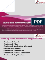 Step by Step Trademark Registration in India