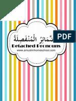 Arabic Detached Pronouns