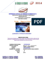 Vida Espiritual Juliaca Contabilidad David Panca Actividad 1