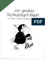 Mein Grosses Schulstart-Heft Mit Dem Kleinen Raben Soken 1