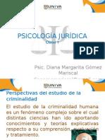 Psicología Jurídica Clase 1