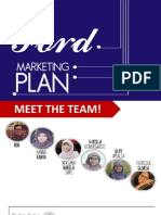 Ford's Marketing Plan