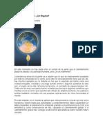 Calentamiento Global - Artículo