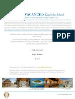 Kandolhu Island - Job Vacancies 24112015