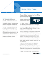 Wp Seven Ways to Make the First Mile of Business Smarter En