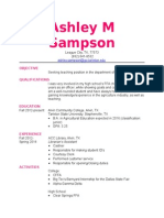 sampson resume
