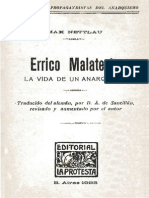 E. Malatesta. La Vida de Un Anarquista