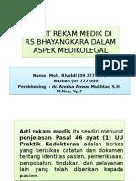 Audit Rekam Medik Di Rs Bhayangkara Adam Iza