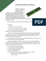 Bordeanu Catalin - RAM( Radom Acces Memory )