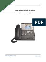 Manual de Usuario - Telefonia IP - Alcatel - Lucent 4068 - Sin Clave