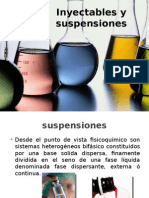 Inyectables y Suspensiones